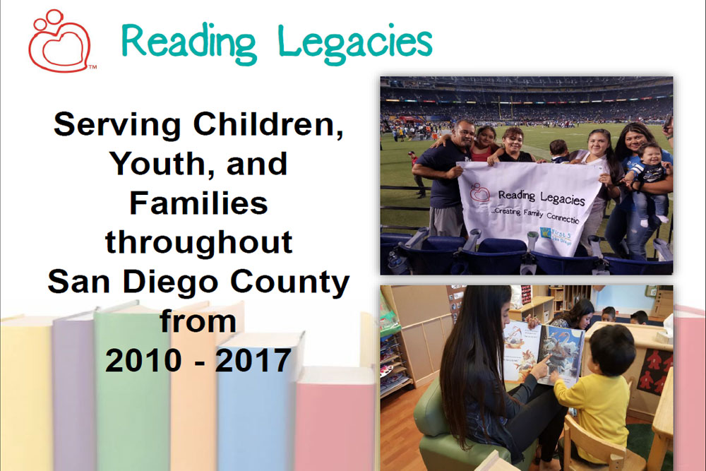 PowerPoint presentation from 2017 Reading Legacies Annual Celebration