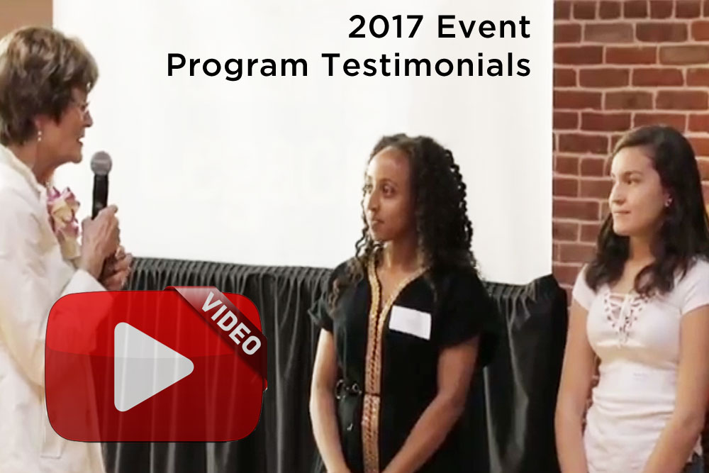 Program testimonials from 2017 Event