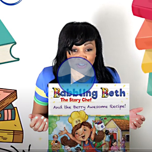 "<i>""Babbling Beth the Story Chef: And the Berry Awesome Recipe""</i>"